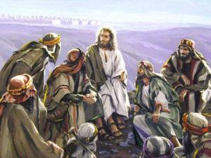 Gesù insegna il Padre Nostro